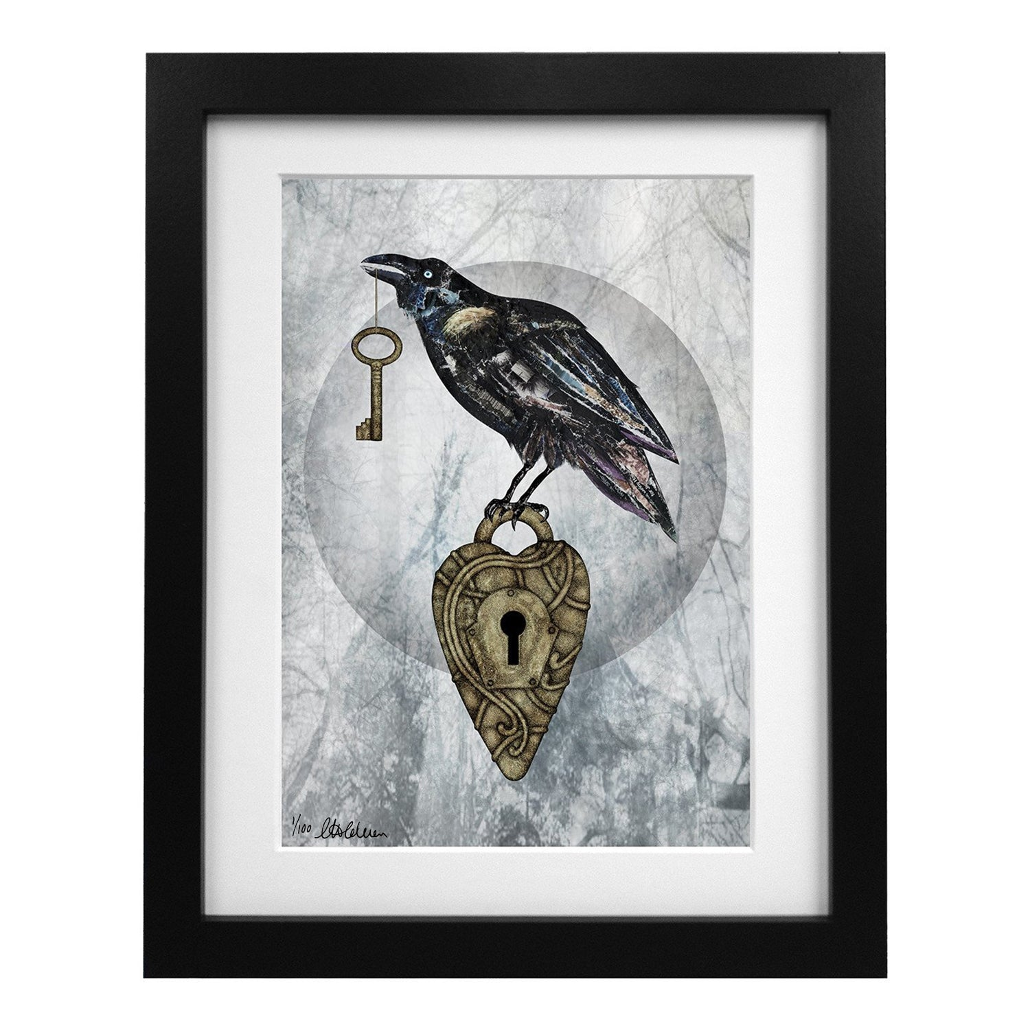Limited Edition Nevermore Art Print