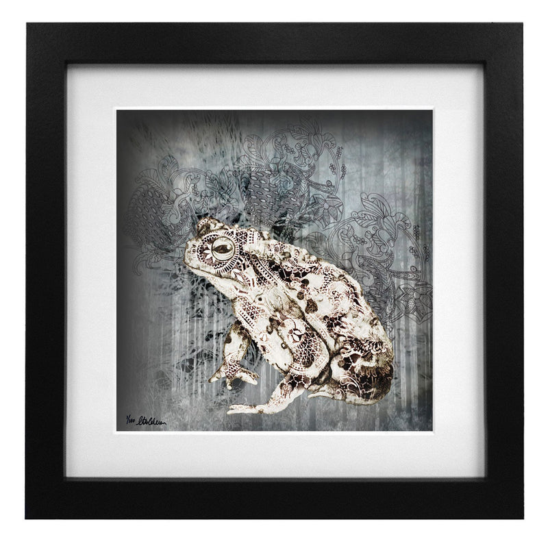 Limited Edition Noble Toad Art Print