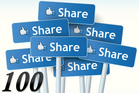 100 Facebook Shares - Las Vegas SEO & Internet Marketing Company