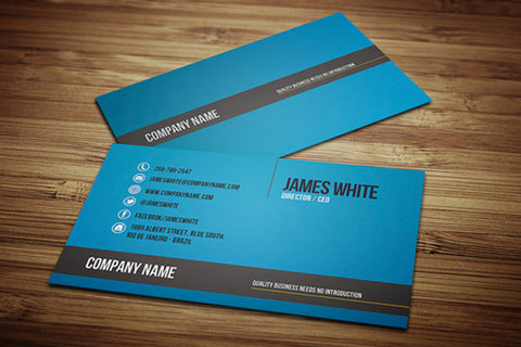 Business Card Design - Las Vegas SEO & Internet Marketing Company