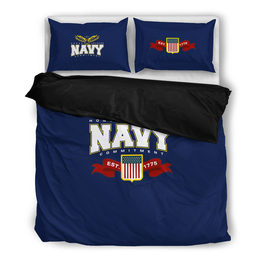 Navy Beddding Set