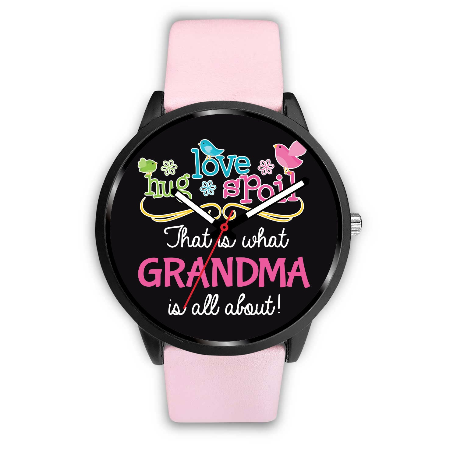 Love Hug Spoil Pink Women's Watch