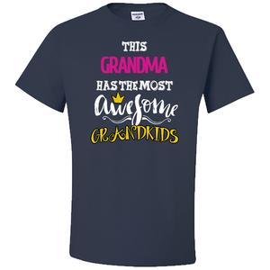 Awesome Grandkids Grandma T-Shirt