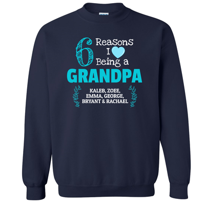 6 Reasons Personalized Grandpa Sweat Shirt