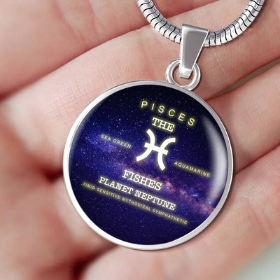 Pisces Luxuary Silver Necklace