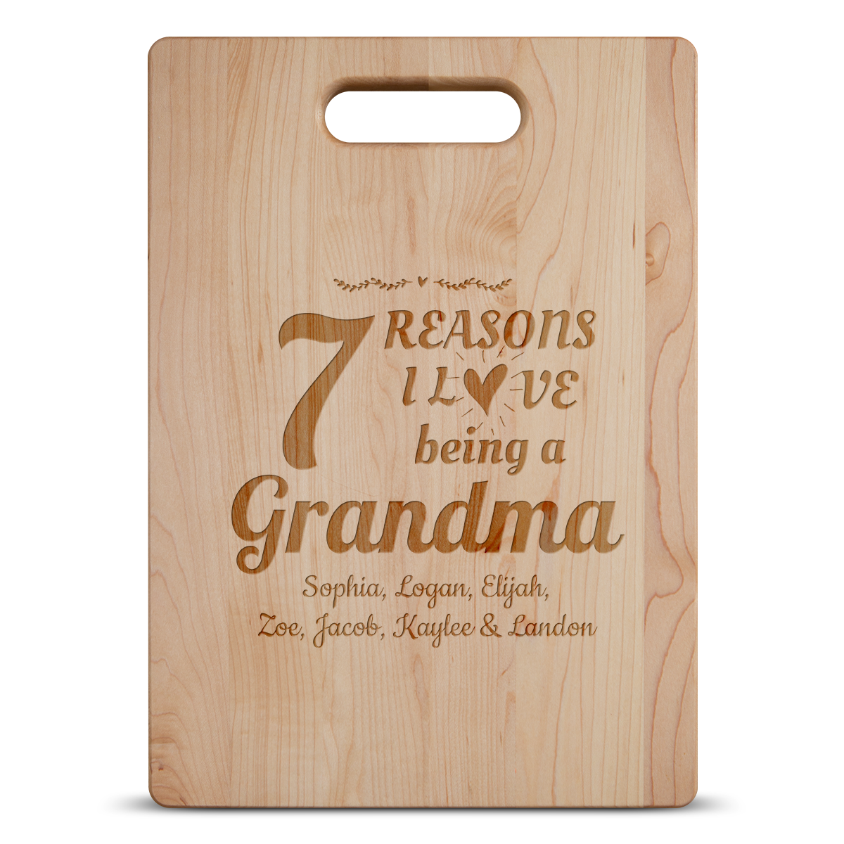 7 Reasons Grandma Cutting Board