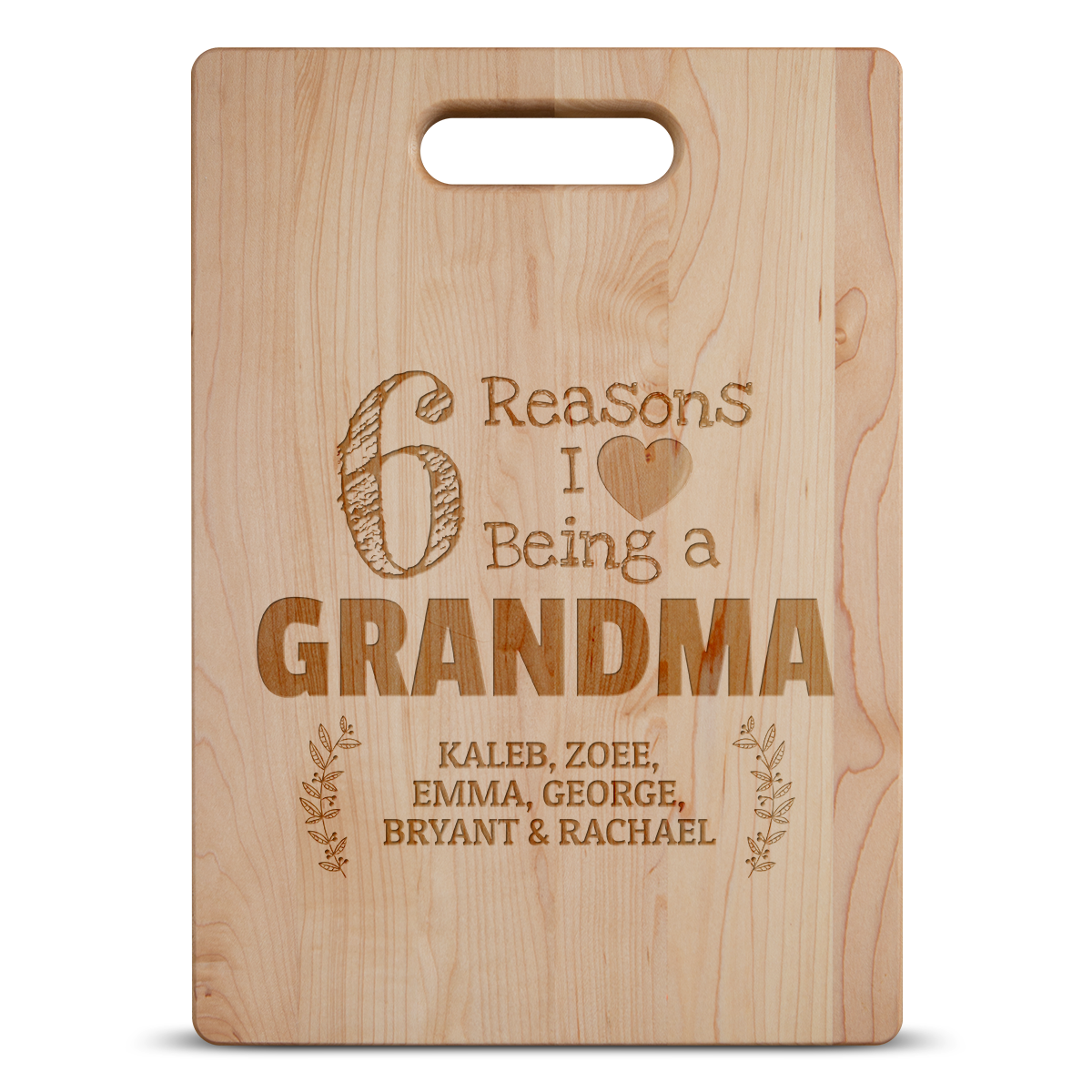 6 Reasons Grandma Maple Cutting Board