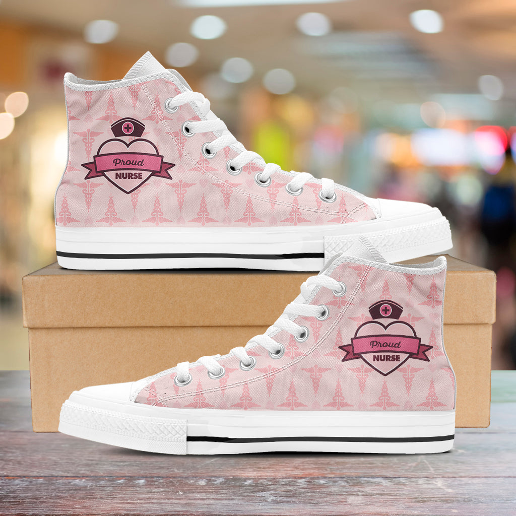 Proud Nurse High Tops