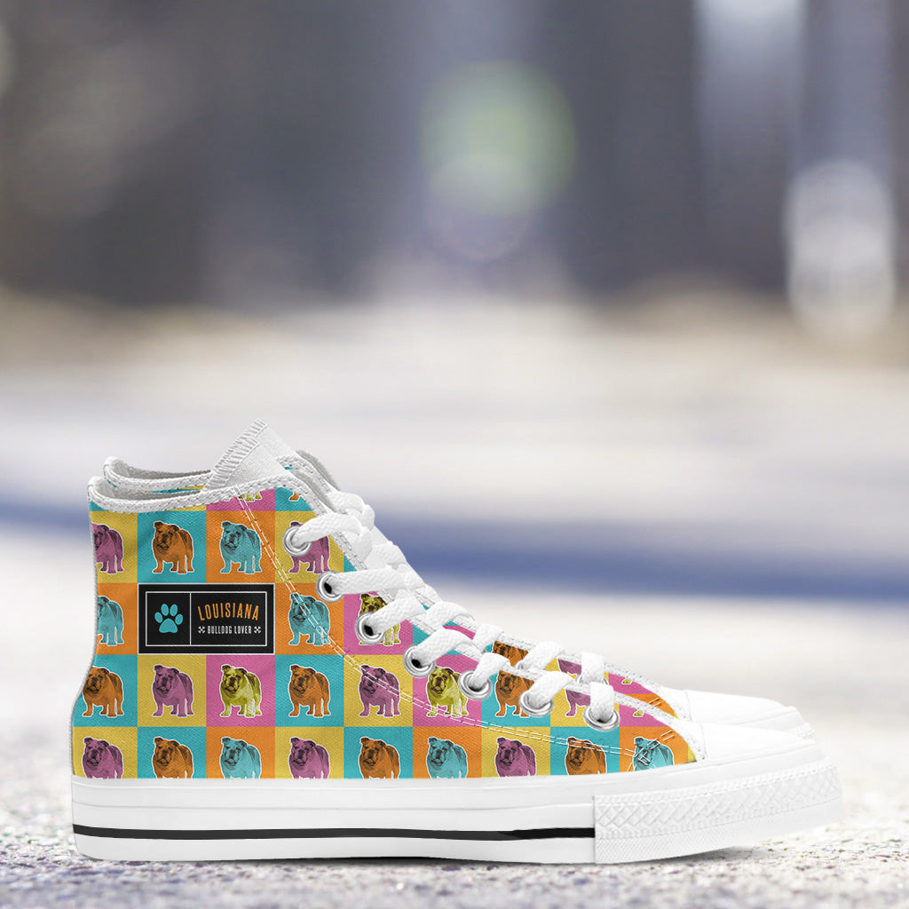 a78c8212db373 Bulldog Ladies High Tops - gearessence