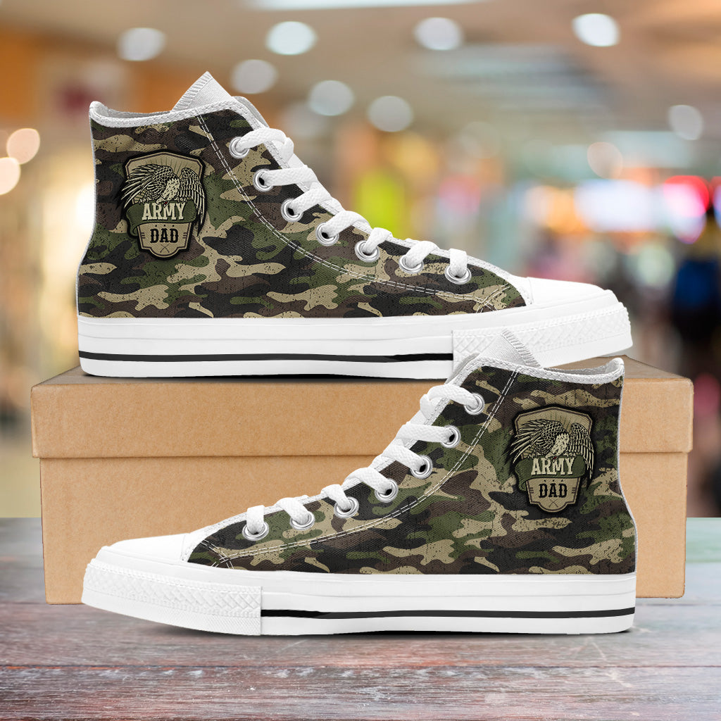 Army Dad High Tops