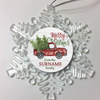 Personalized Christmas Ornament Merry Christmas Truck