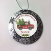 Personalized Christmas Ornament Merry Christmas Truck Name