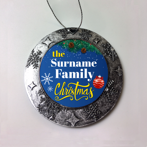 Personalized Christmas Ornament Family Christmas