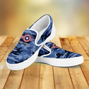 Air Force Slip Ons Ladies