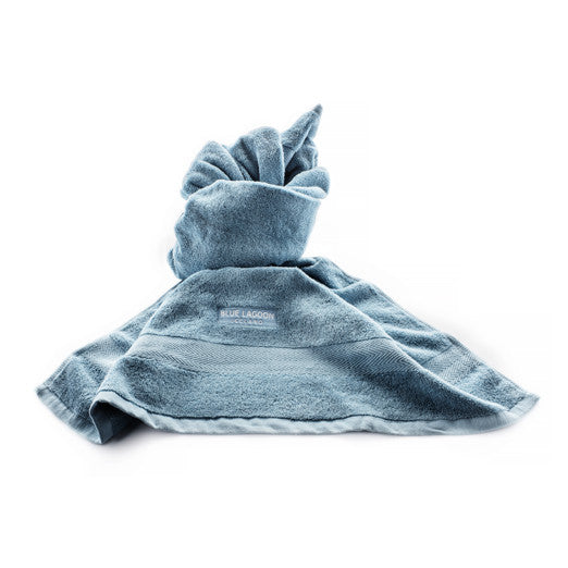 Blue Lagoon spa towel