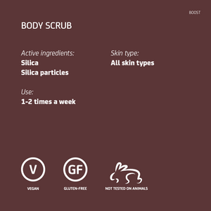 Silica Body Scrub