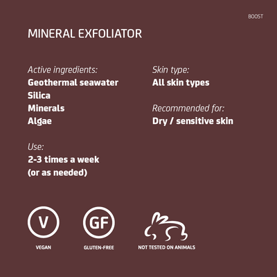 Mineral Face Exfoliator Travel Size