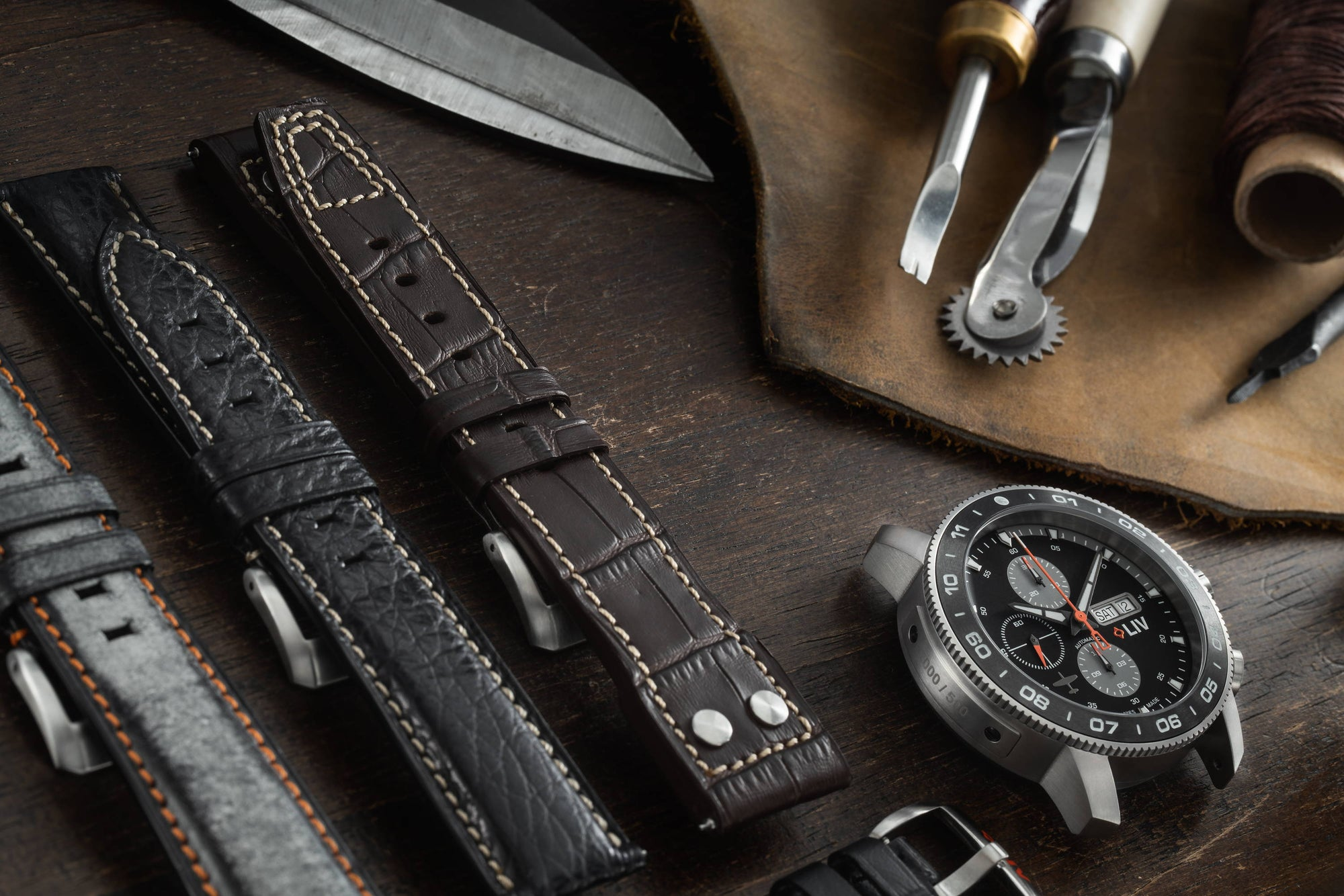 It's Time to Learn About Leather Watch Straps