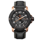 LIV GX1-A Classic Black & Rose Gold - LIV Swiss Watches