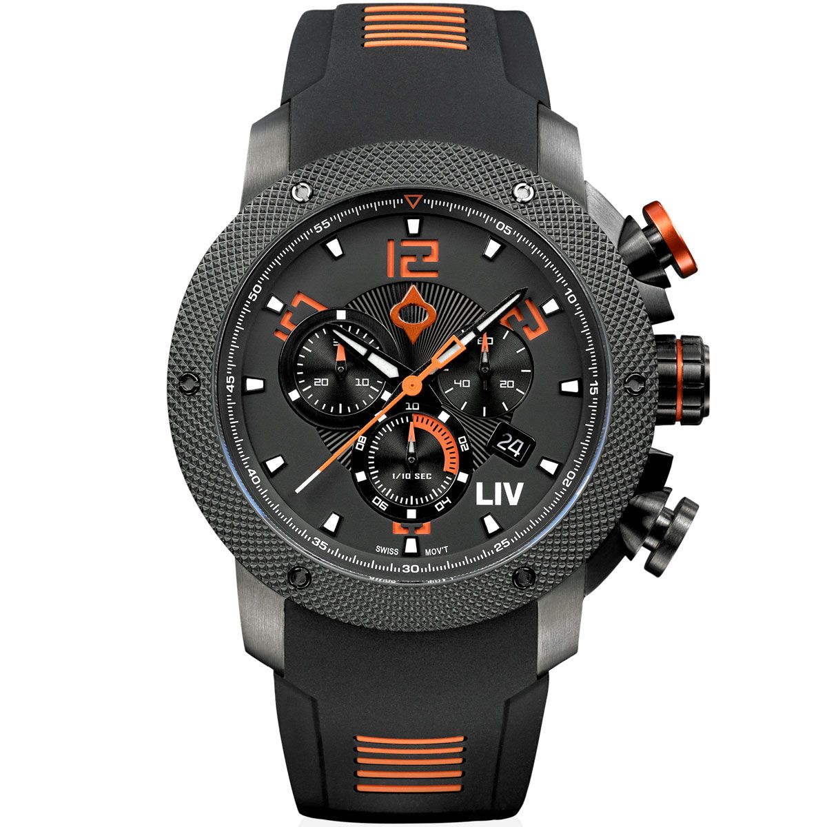 LIV GX1 Signature Orange - LIV Swiss Watches