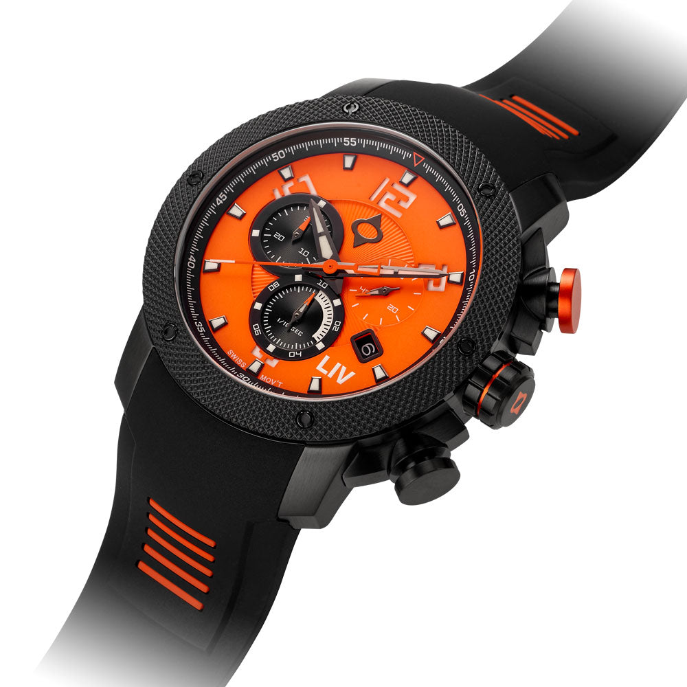 LIV GX1 The Orange - Limited Edition - LIV Swiss Watches