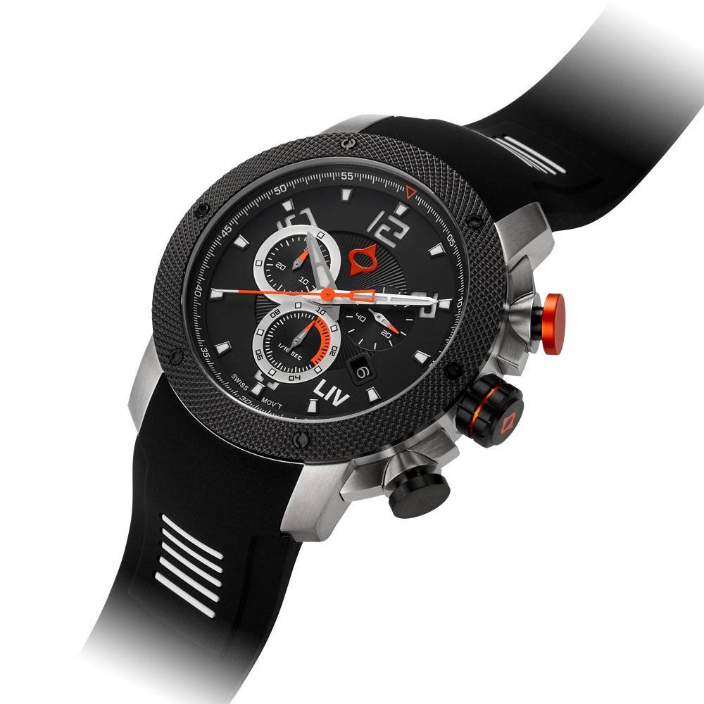 LIV GX1 Classic Black - LIMITED EDITION - LIV Swiss Watches