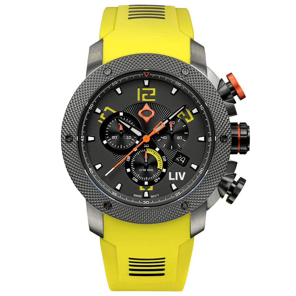 LIV GX1 Venom Yellow - LIV Swiss Watches
