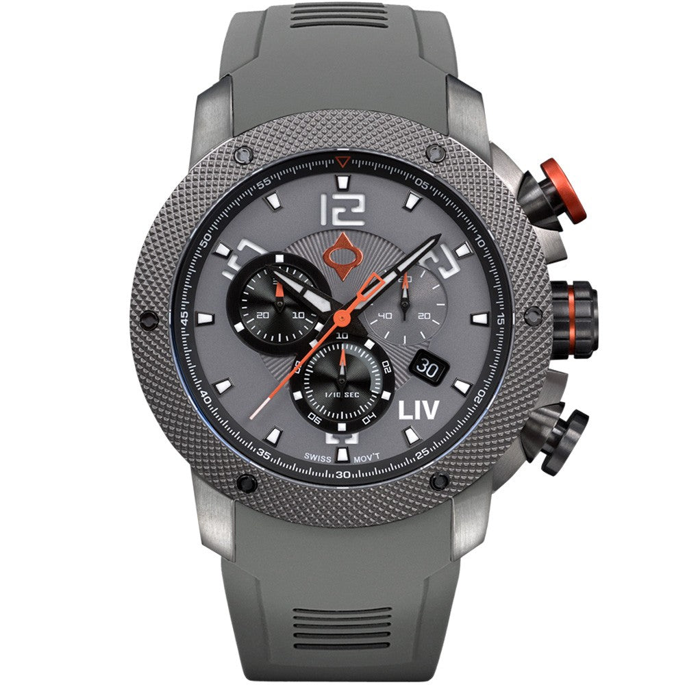 LIV GX1 Cool Gray - LIMITED EDITION - LIV Swiss Watches