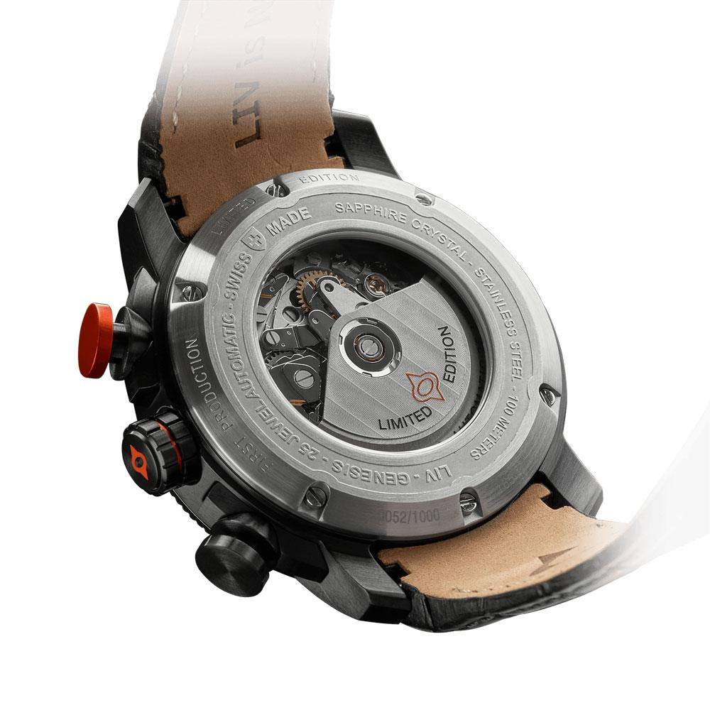 LIV GX-AC Signature Orange - LIV Swiss Watches