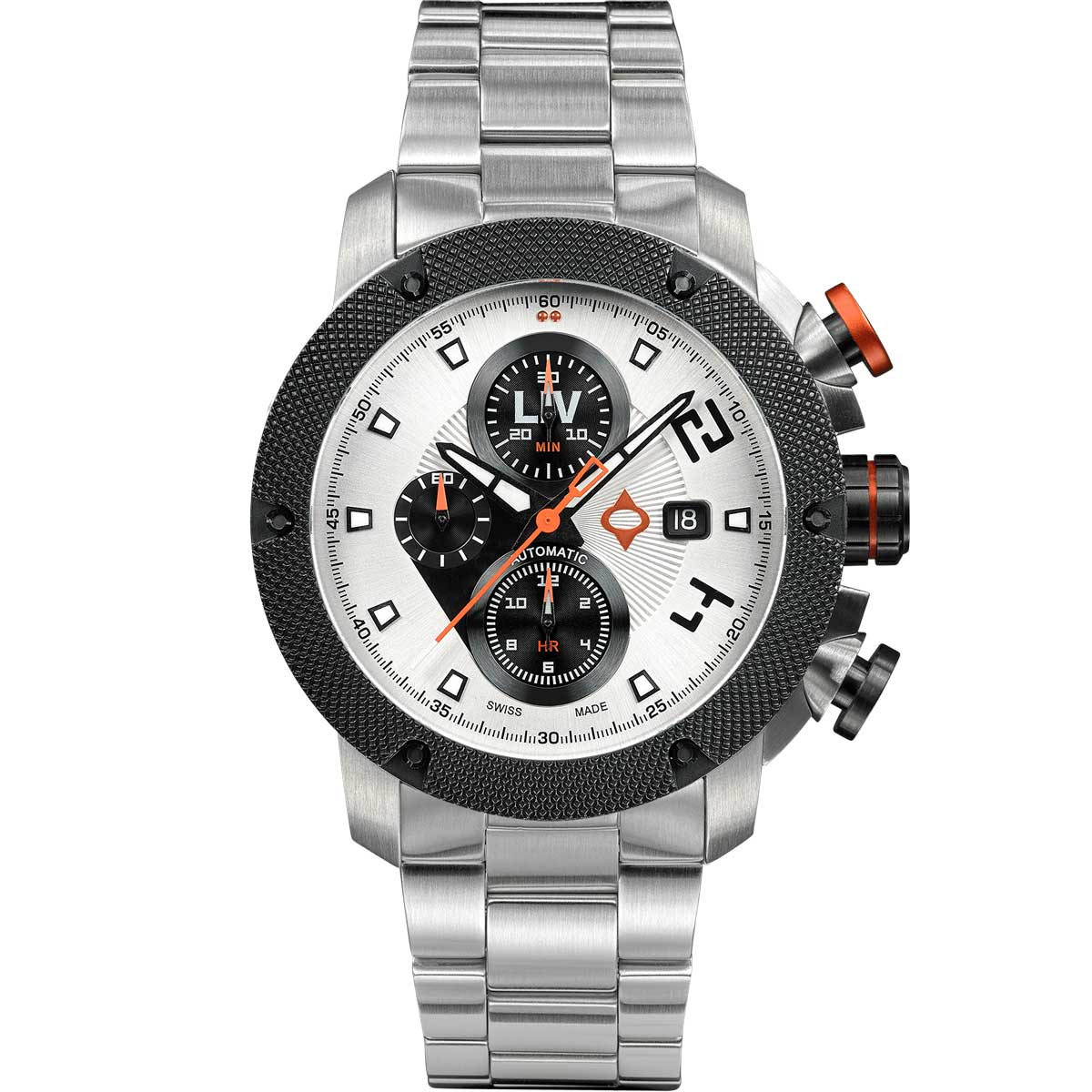 LIV GX-AC Swiss Panda - LIV Swiss Watches