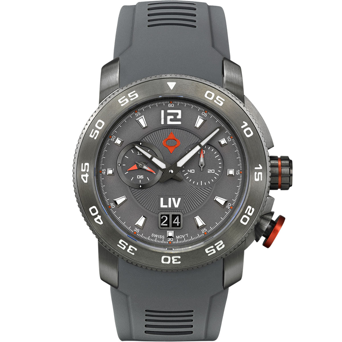 LIV GX Alarm Type-D Cool Gray