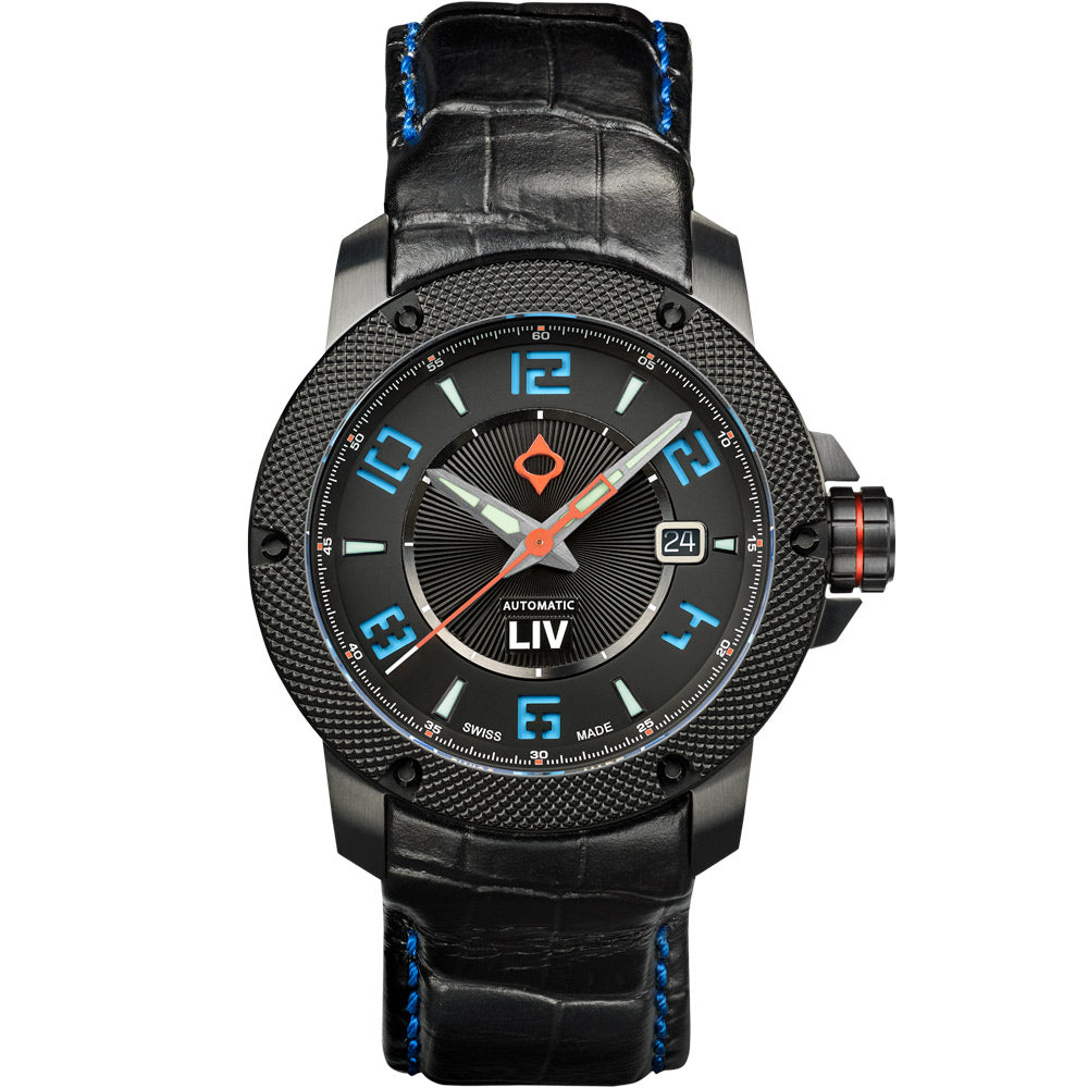LIV GX1-A Sky Blue - LIV Swiss Watches