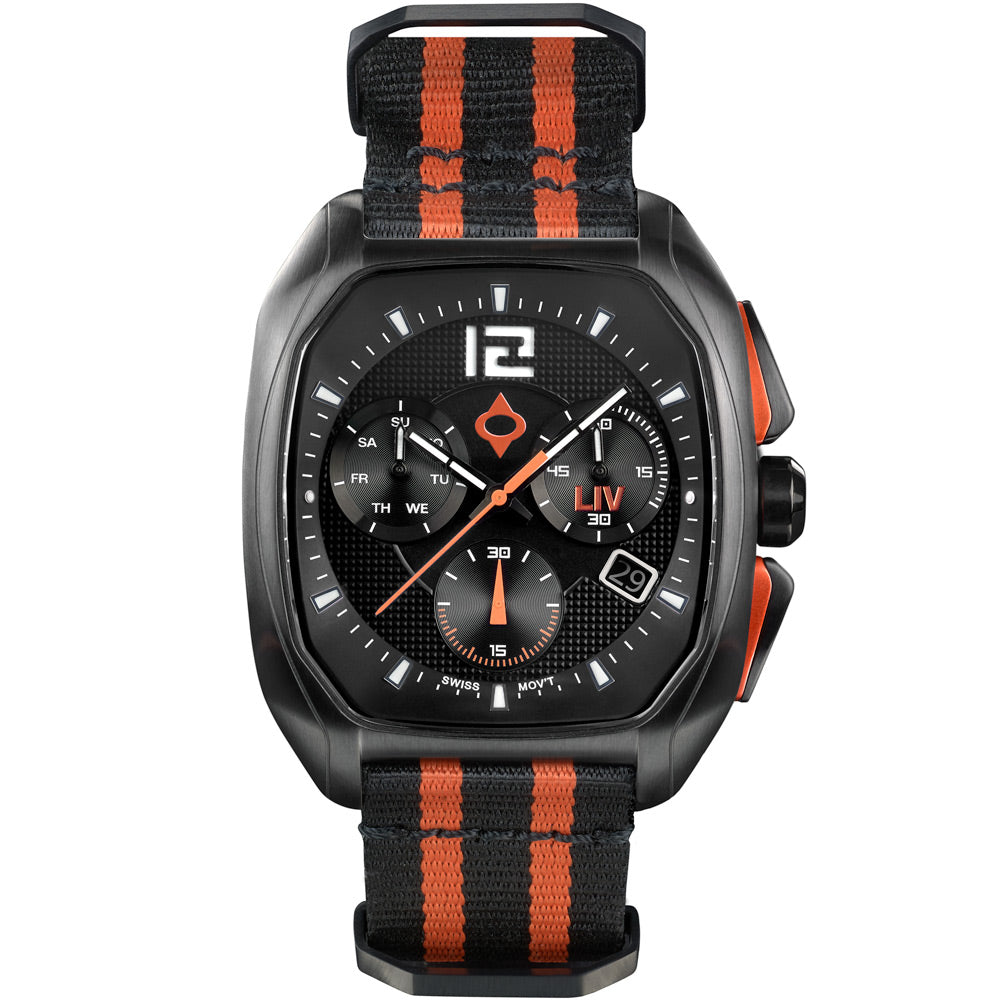 LIV Rebel-DDC Classic Black - LIV Swiss Watches
