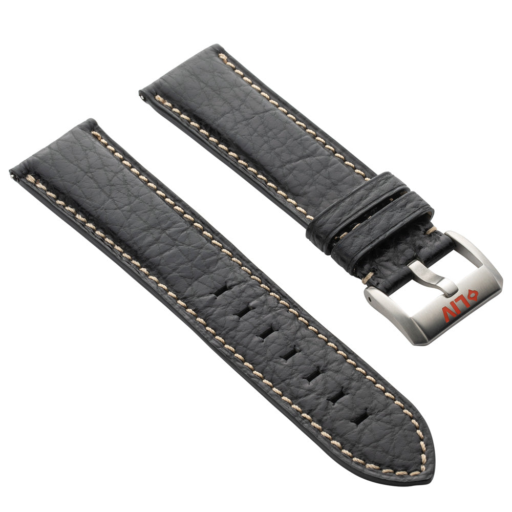 Shark Leather | 23mm - LIV Swiss Watches