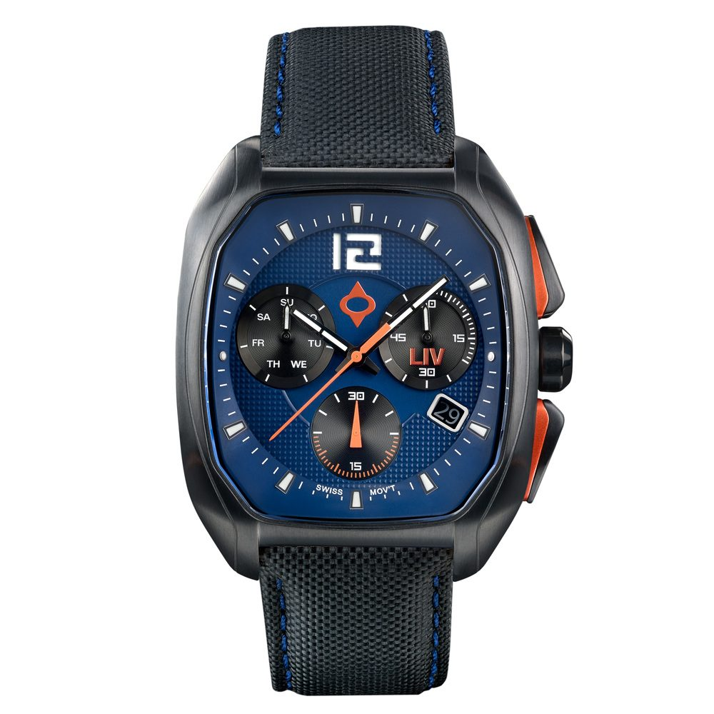 LIV Rebel-DDC Cobalt - LIV Swiss Watches