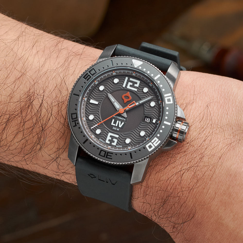 LIV Watches GX Diver's 41mm Gray