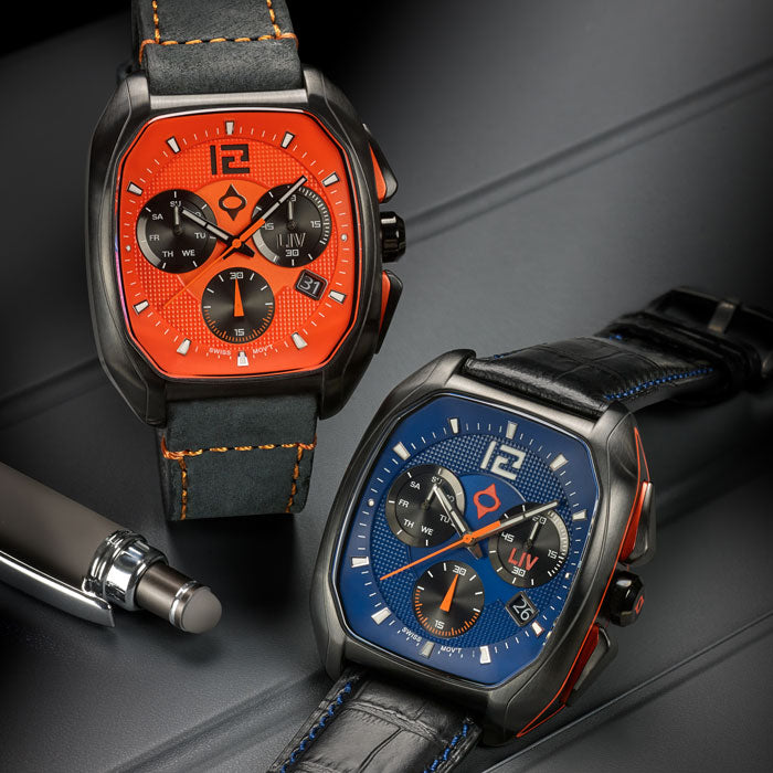 LIV Watches Rebel DDC Swiss Chronograph