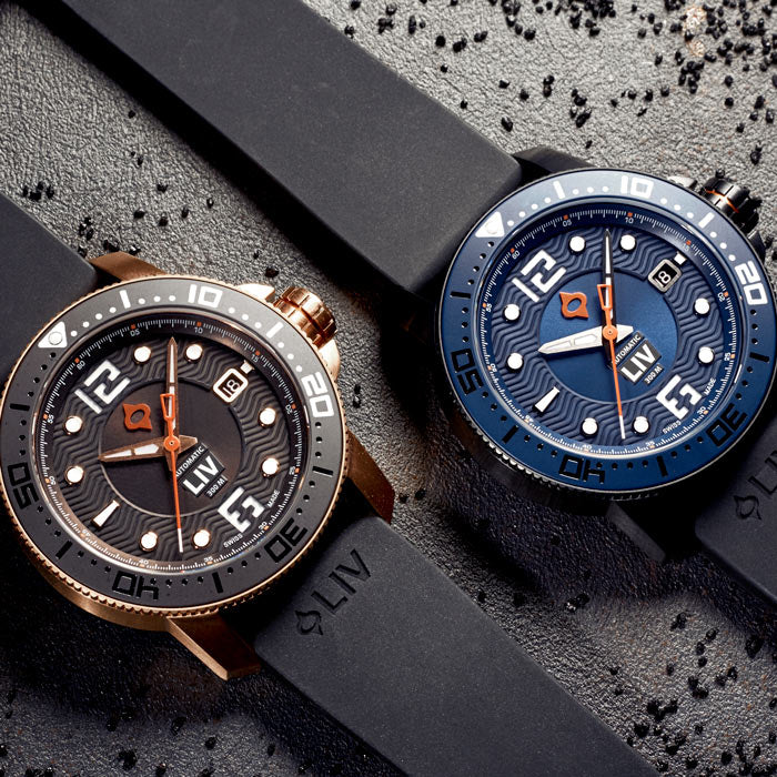 LIV Watches GX Diver's 41mm Collection