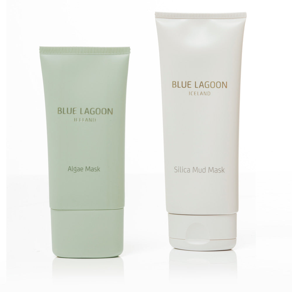 Algae and Silica mask duo