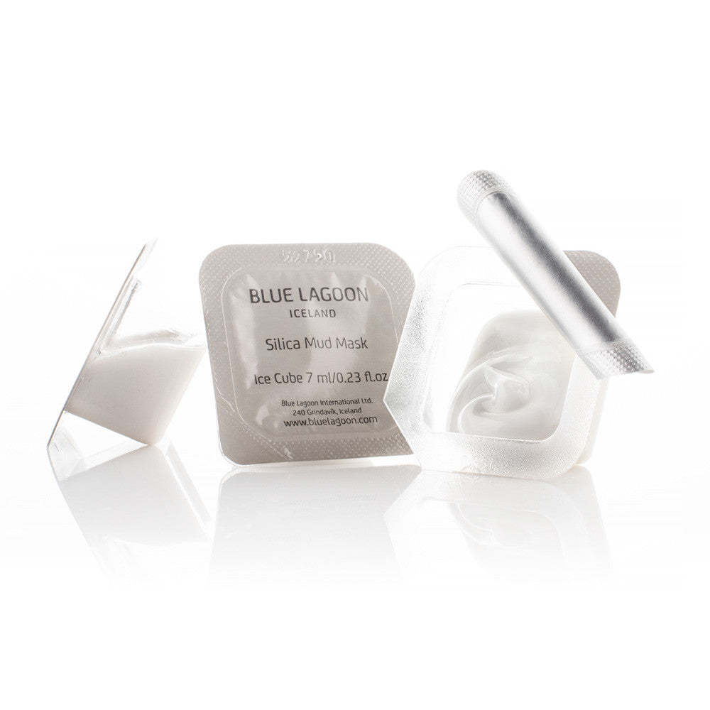 SILICA MUD MASK ICE CUBES