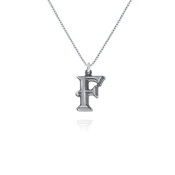 שרשרת אות (F) כסף925 - [collection_title] - tzufa-jewelry-2