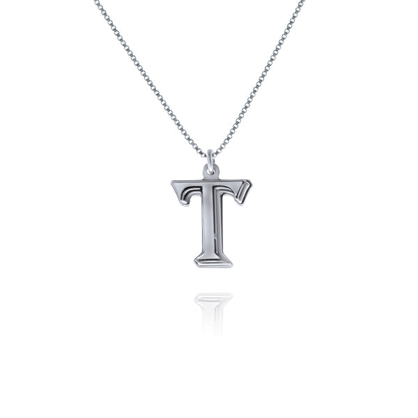 שרשרת אות (T) כסף925 - [collection_title] - tzufa-jewelry-2