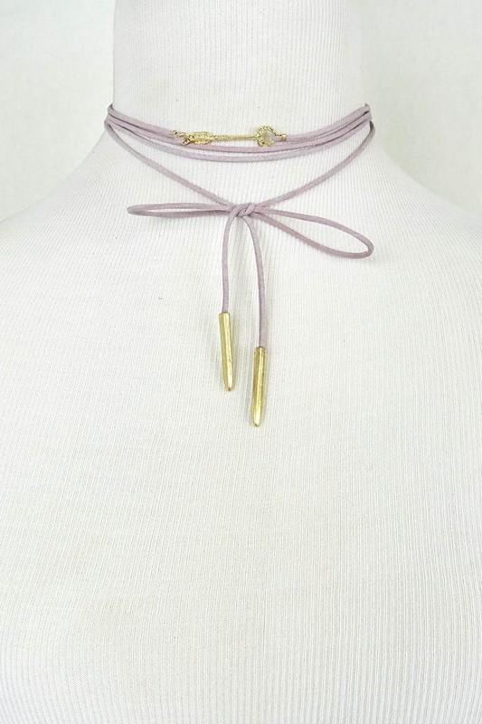 Arrow Wrapped Choker - Available at Celizzione.com