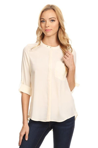 Button Up Top - Available at Celizzione.com