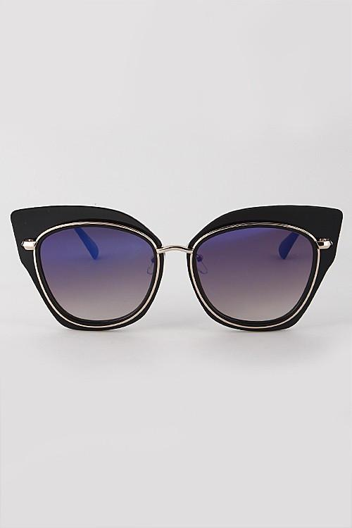 Cat-Eyed Sunglasses - Available at Celizzione.com