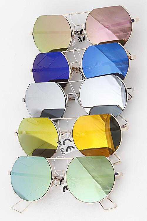 Summer Inspired Oval Sunglasses - Available at Celizzione.com
