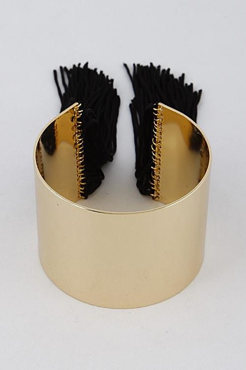 Tassel Cuff Bracelet - Available at Celizzione.com