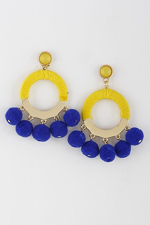 Eva Earrings - Available at Celizzione.com