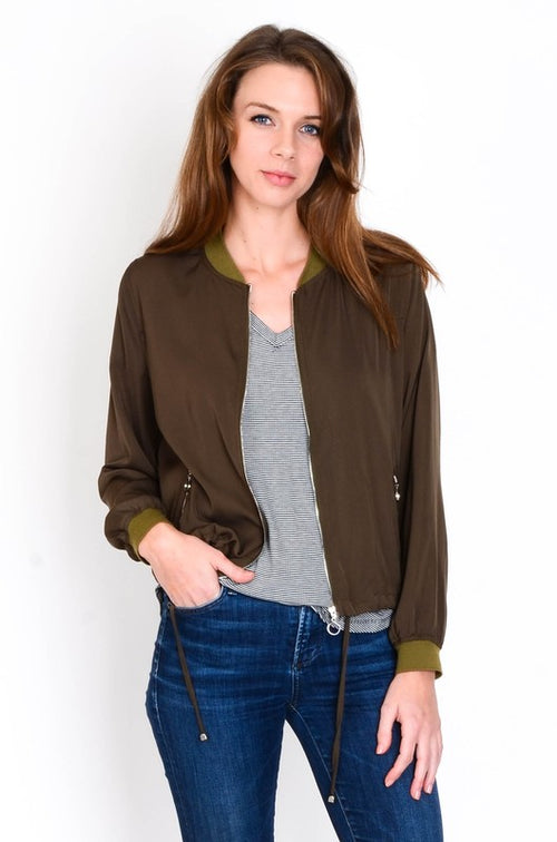 Nikki Bomber Jacket - Available at Celizzione.com