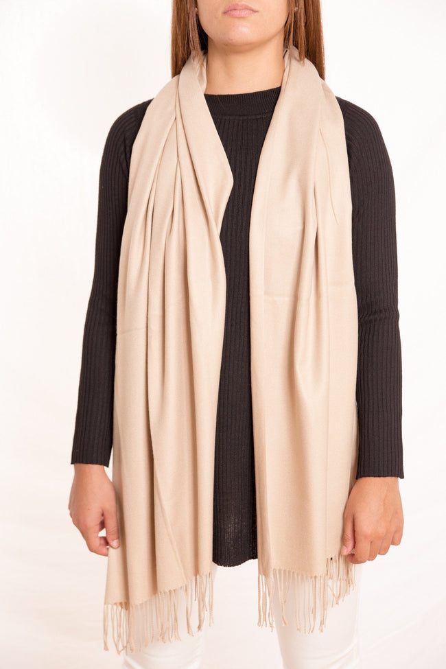 Solid Cashmere Scarf - Available at Celizzione.com